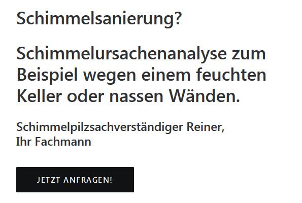 Schimmelsanierung aus Baden-Württemberg